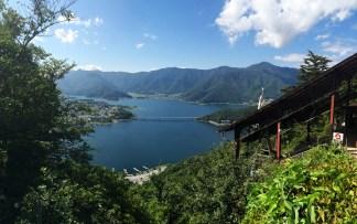 Lacul Kawaguchi, vedere de pe Ropeway