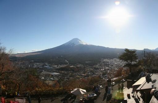 Fuji from Ropeway