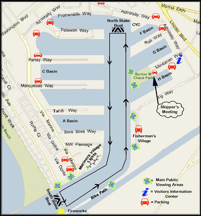 MDR boat parade route