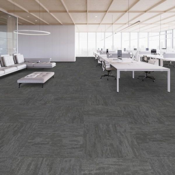 Thảm lót sàn màu ghi 3
