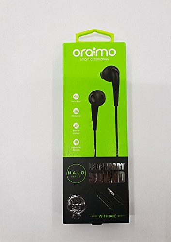Oraimo Earphone OEP-E21 Black