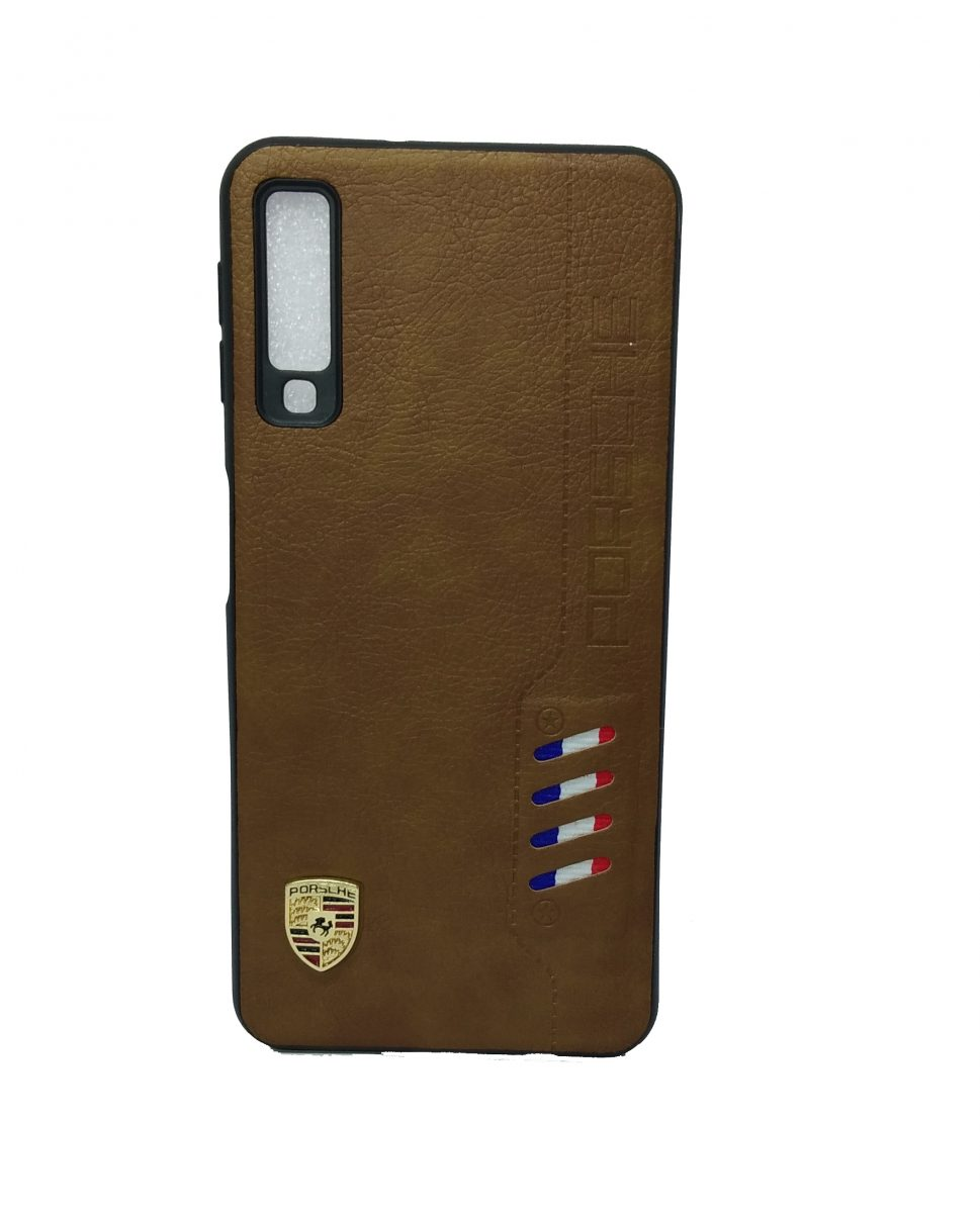 Samsung A7 2018 Leather Back cover