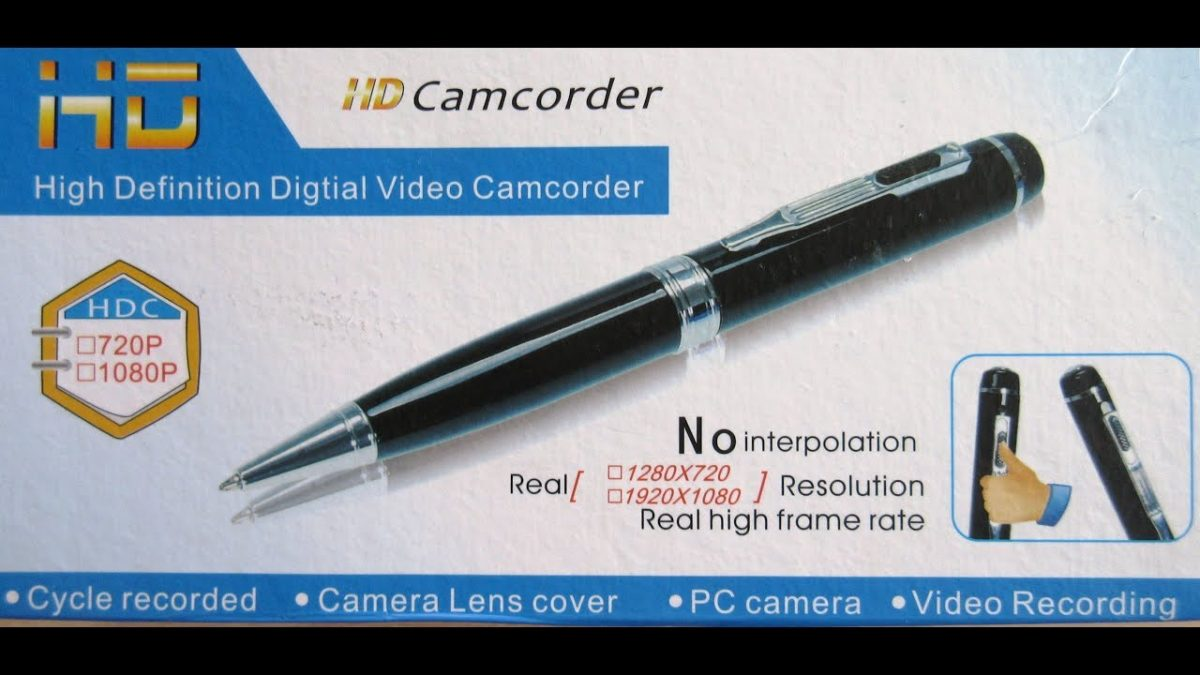Pen Camcorder HD