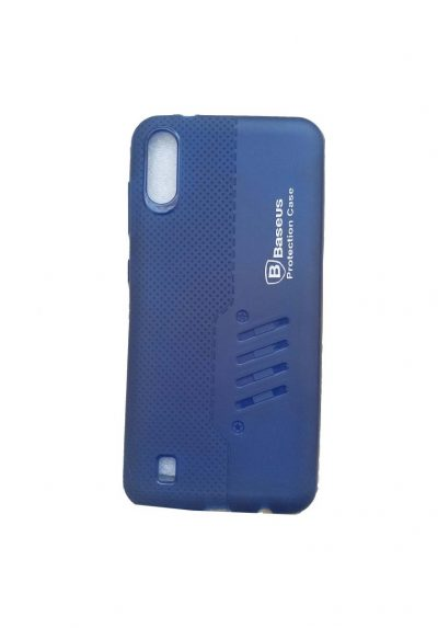 Samsung M10 Back Cover Blue