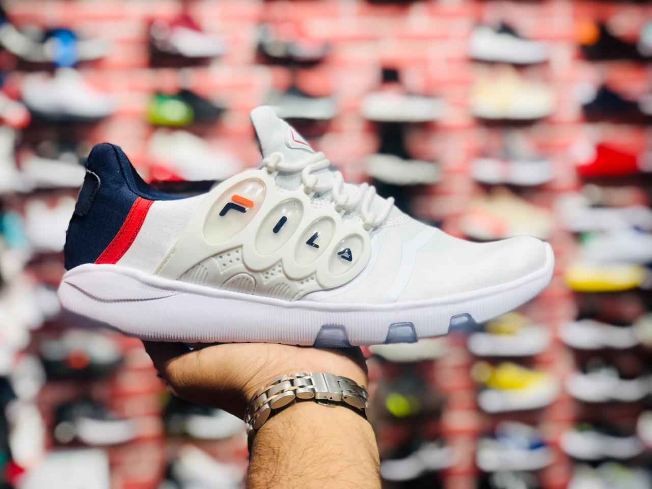 Fila soft capsule shoes (White)