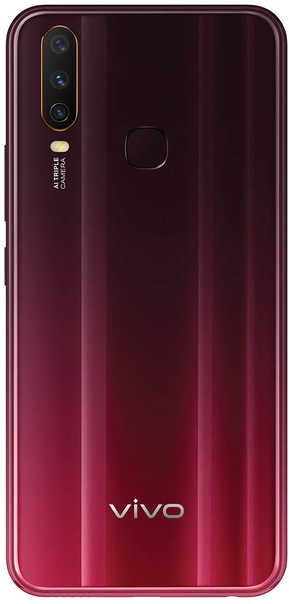 Vivo Y12 Burgundy Red (3GB RAM, 64GB Memory)