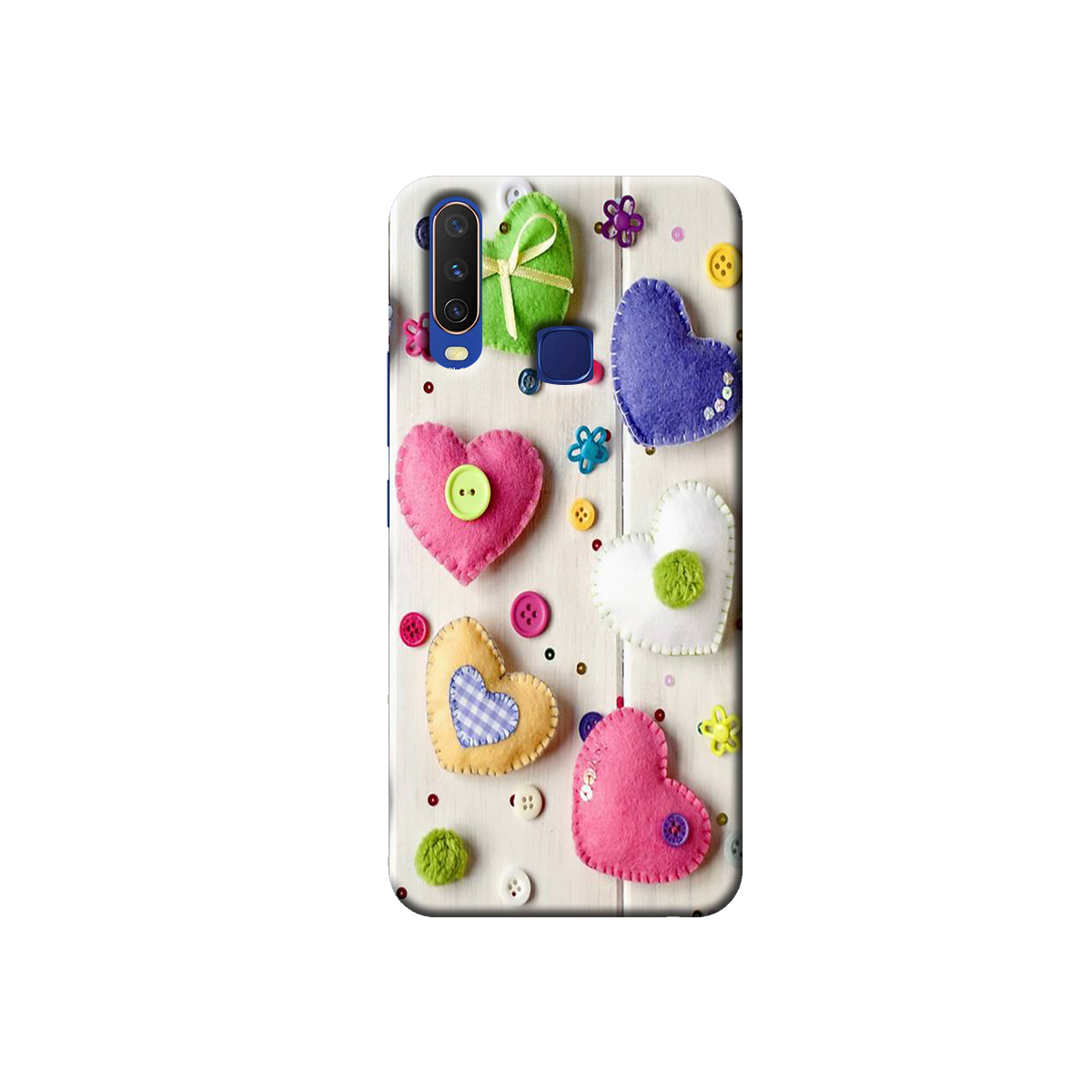 Vivo Y12 / Y15 / Y17 Back cover (Heart)