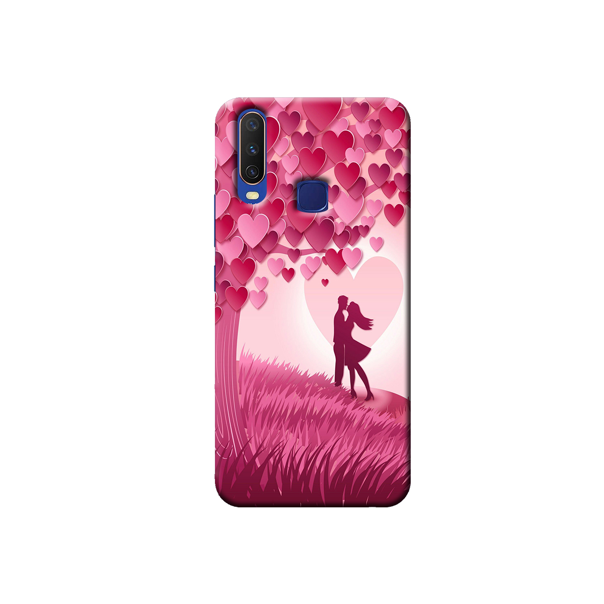 Vivo Y12 / Y15 / Y17 Back cover (Couple)