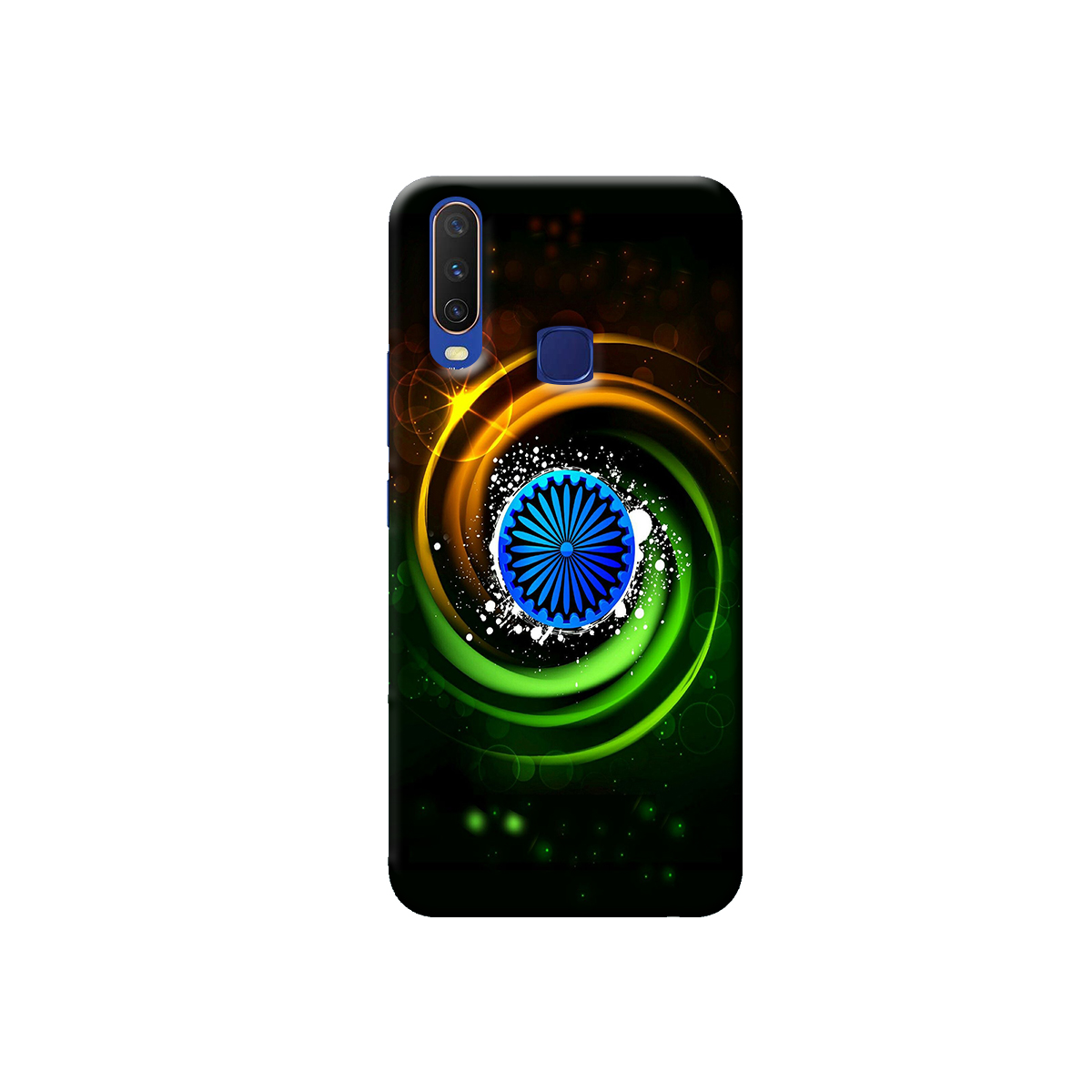 Vivo Y12 / Y15 / Y17 Back cover (Tiranga)