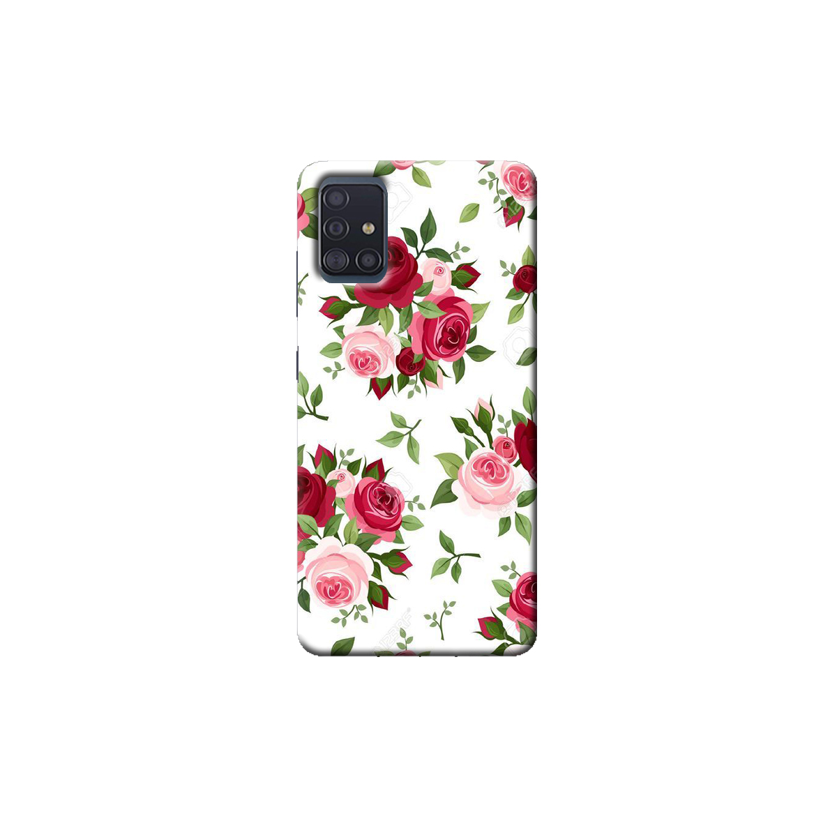 samsung A51 Back cover (Rose)