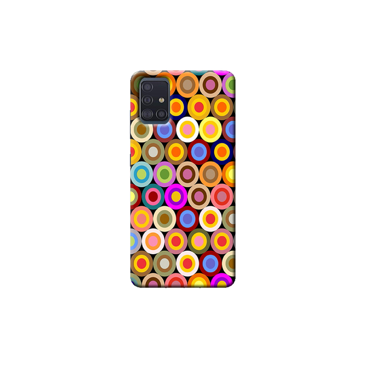 samsung A51 Back cover (Round)