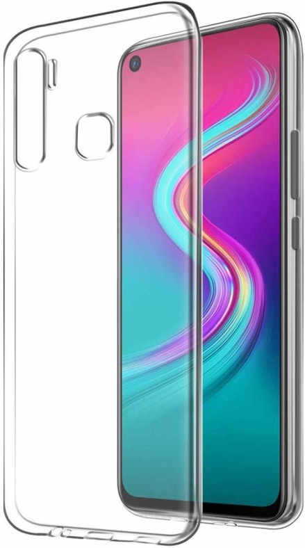 Infinix S5 lite mobile transparent back cover