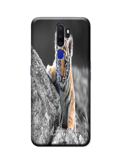 oppo a9 2020 back cover (Tiger)