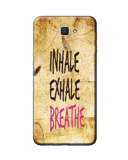 samsung galaxy j7 prime back cover (inhale)