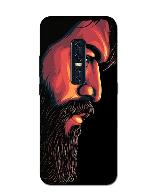 vivo v17pro mobile cover (beared)