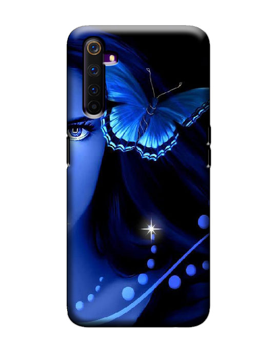realme 6 pro mobile cover (Butterfly)