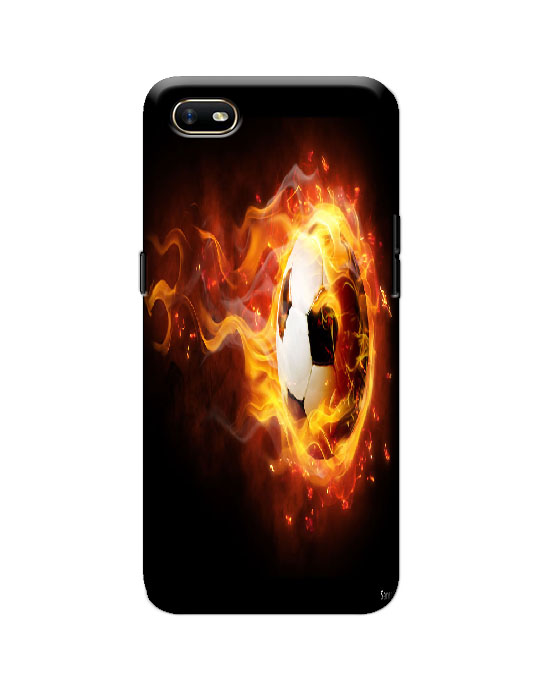 oppo A1k Back cover (fire Football)