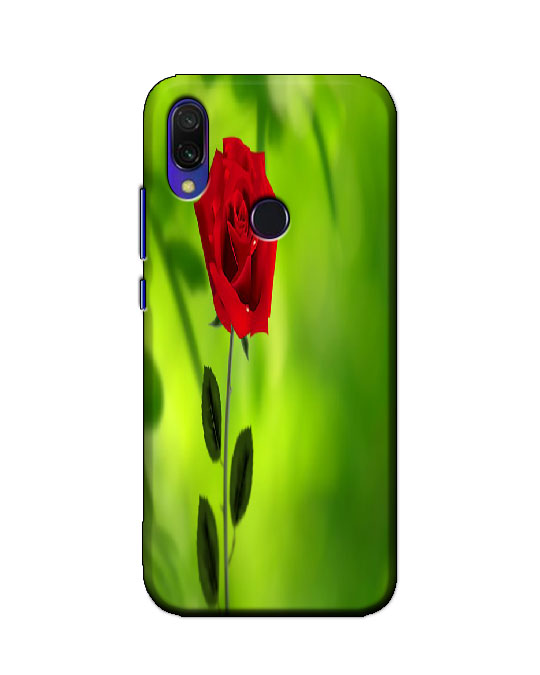 redmi y3 back cover (gulab)