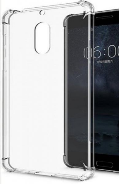 Nokia 3.1+ Transparent Mobile back cover