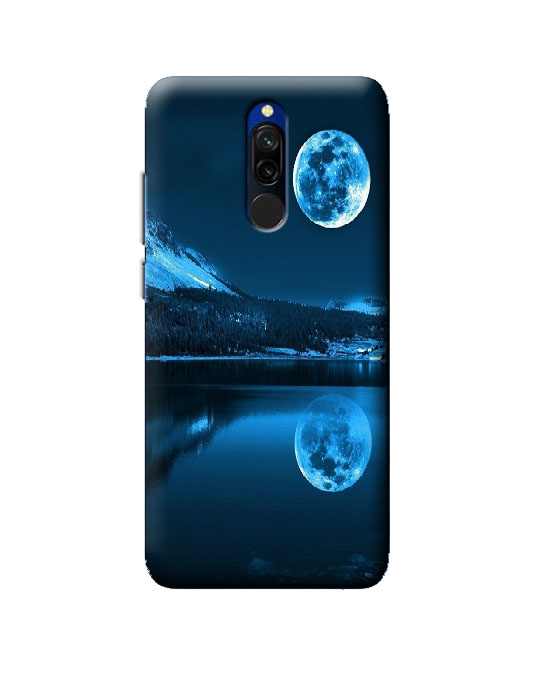 mi 8 back cover (Blue moon)