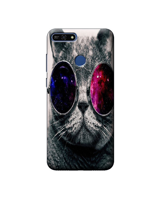 Honor 7A mobile back cover (Cat)
