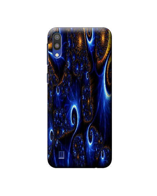 samsung m10 cover (fast blue)