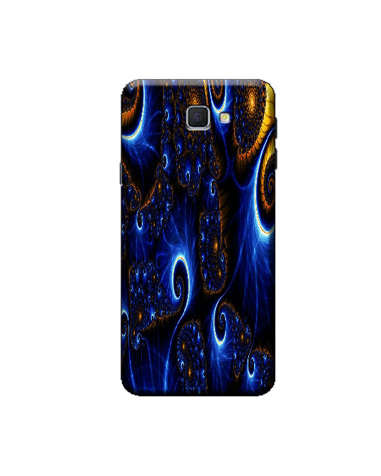 samsung j5 prime mobile back cover (fast blue )