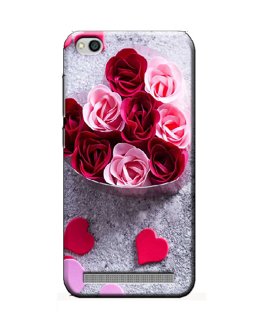 Redmi 5A back cover (Rose Heart)