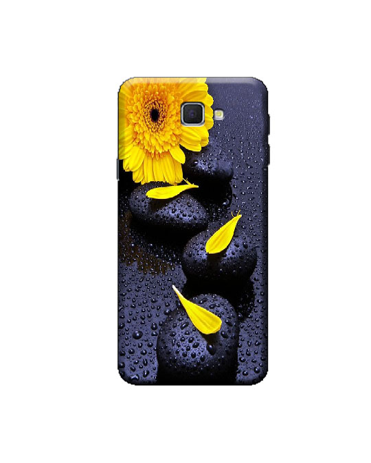 samsung j5 prime mobile back cover (Flower )