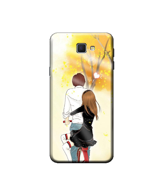 samsung j5 prime mobile back cover (Cycle couple)