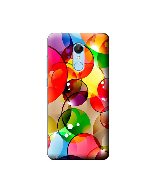 Redmi 5 Mobile Back cover (Colour ball)