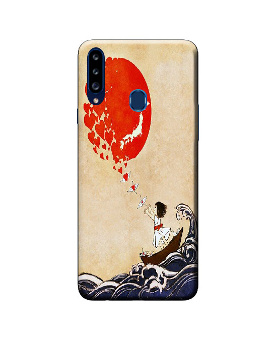 A20s samsung back cover (ship)