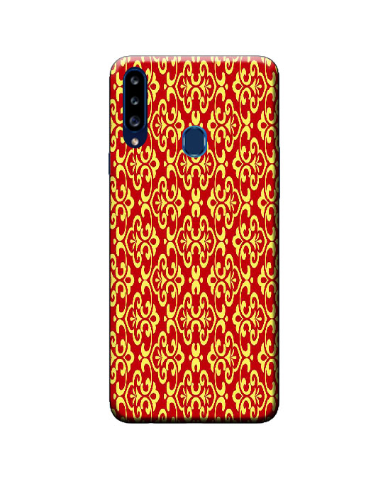 A20s samsung back cover (floral pattern)