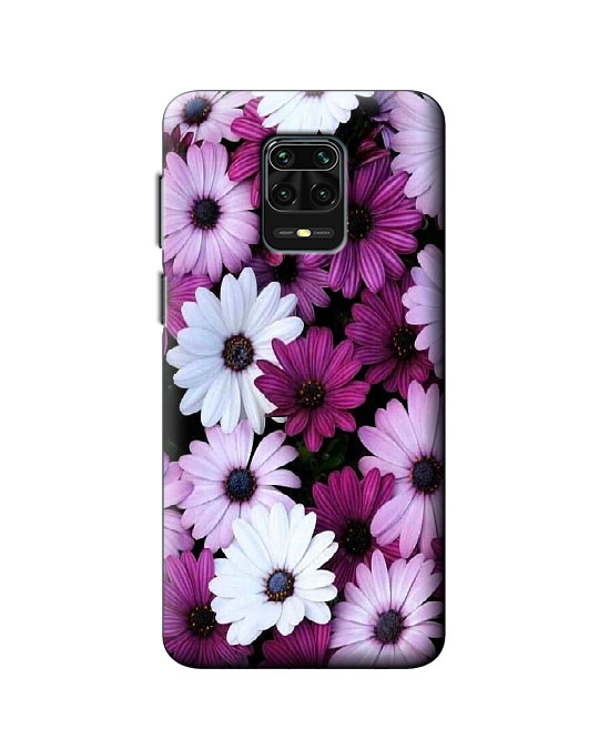 Redmi Note9 pro back cover (purpal flower)