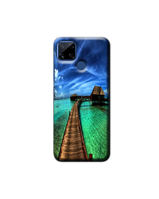 Realme C15 Mobile Back Cover (nature)