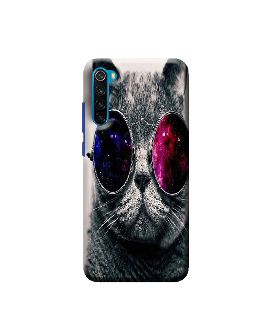 Redmi mi Note 8 mobile Back cover (cute cat)