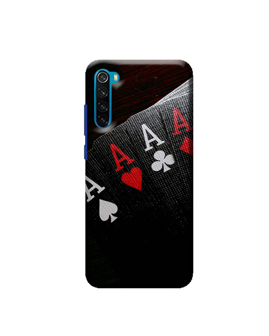 Redmi Note 8 Back Cover (ACE card)