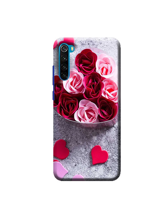 Redmi Note 8 phone cover (rose flower) Price 99 Rs Only