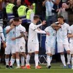 Copa América: Argentina tercera, con Messi y Medel expulsados