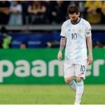 """Copa América: Óscar Códoba no tuvo piedad con Messi: """"Vino a caminar a Brasil"""""""