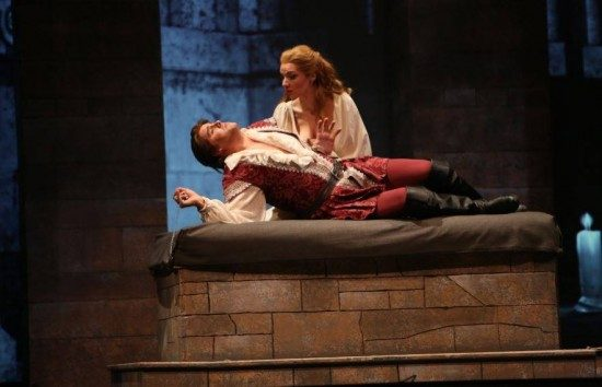 Jonathan Boyd as Romeo and Sarah Joy Miller as Juliet. Photo courtesy of the production.