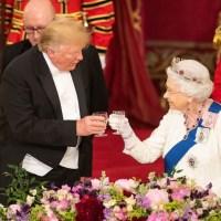 Donald Trump, Queen Elizabeth II