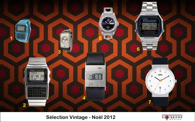 Guide achat selection montres vintage