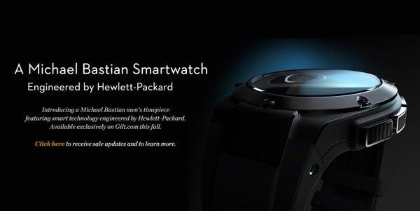 screenshot smartwatch HP Gilt