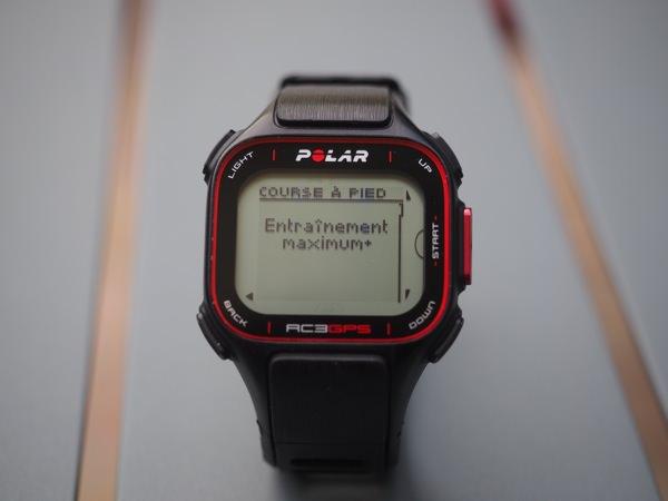Polar RC3 GPS bilan1
