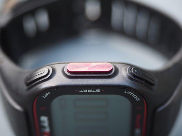 Polar RC3 GPS bouton