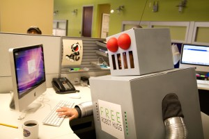 Robots in the workplace - Photo by Ben Hussman (CC BY-SA 2.0)