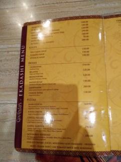Iskcon Govinda restaurants