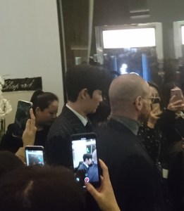 Zhu Yilong at Baselworld 2019