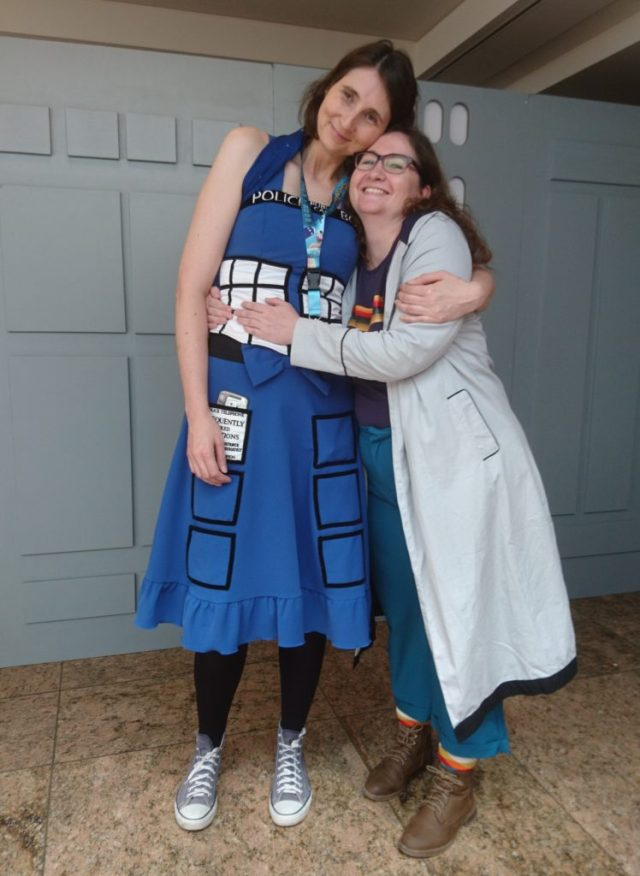 The Doctor and her TARDIS, Fedcon 2019